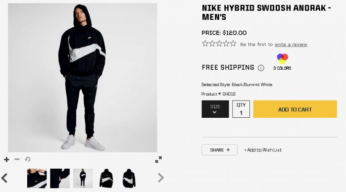 Nike Hybrid Swoosh Anorak   Men s   Casual   Clothing   University Red Midnight Navy.jpg