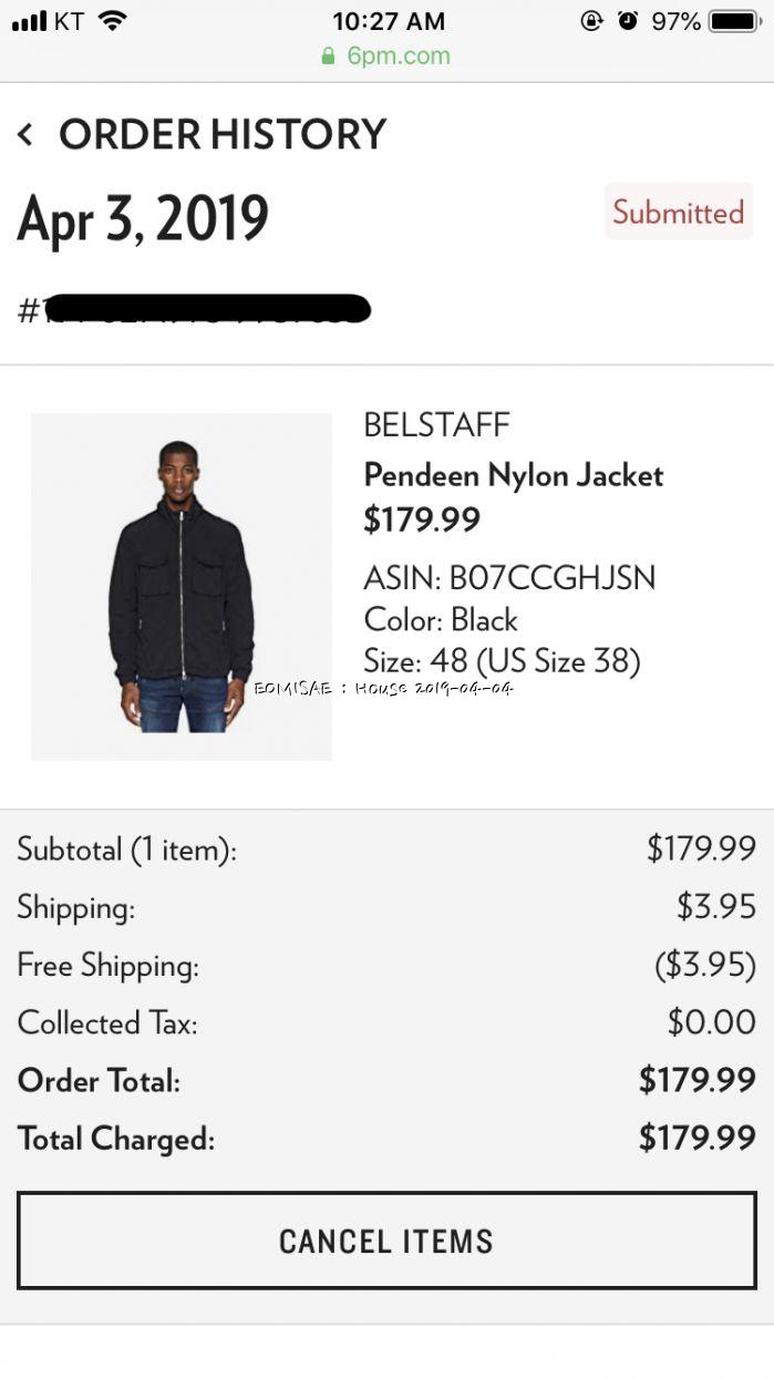 7c165fb0e76 6pm/벨스타프 자켓/$179.99 - 패션구매 - 어미새