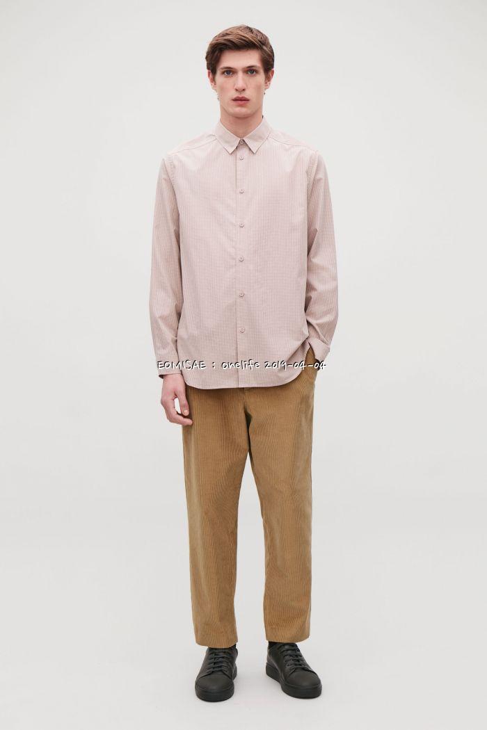 0b0372aee45 COS/마이크로체크 셔츠/25.2유로 - 패션구매 - 어미새